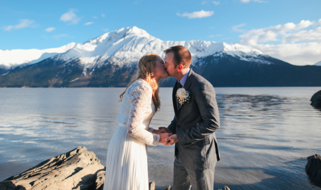 Anchorage wedding photo