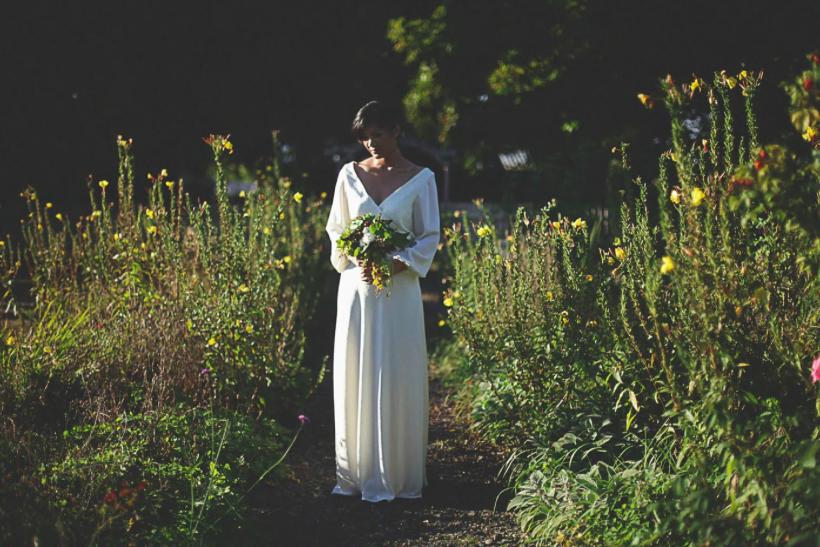 Classic Fall Wedding Dress