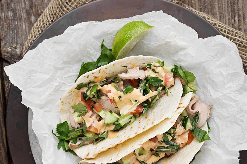 Asian taco recipe