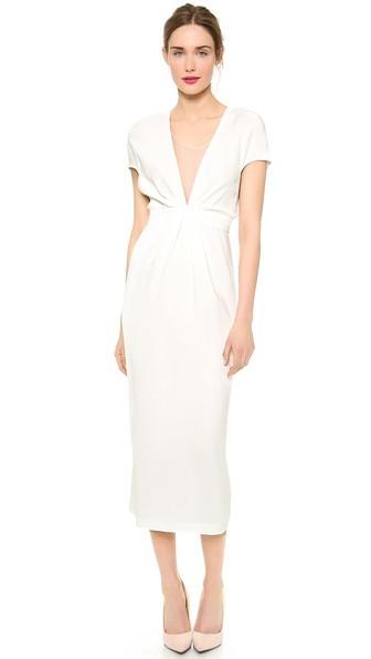 minimalist wedding dress
