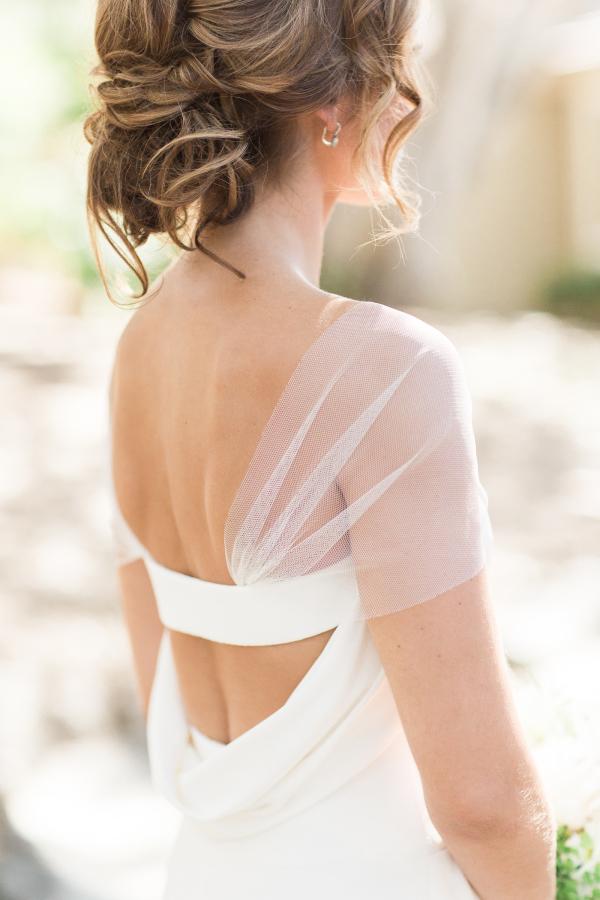 Simple cap gown