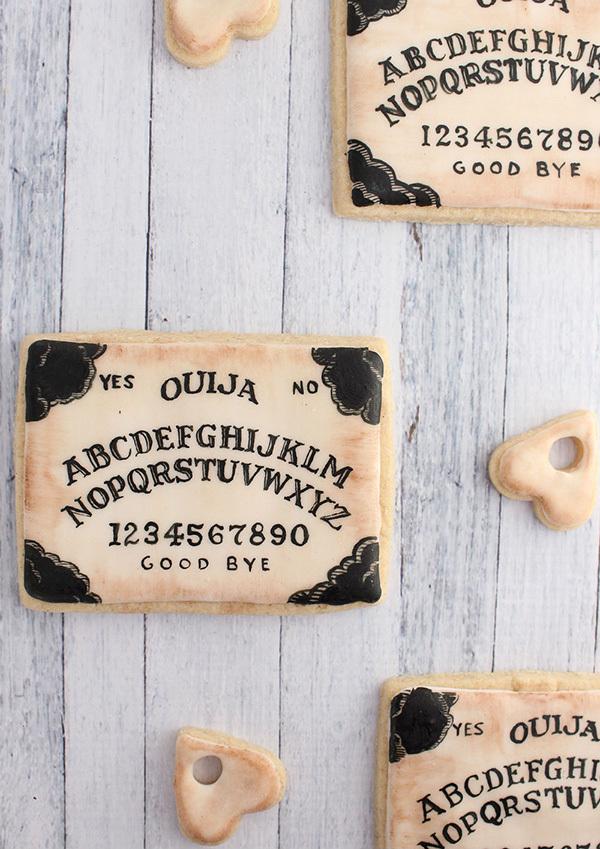 Ouija board cookies