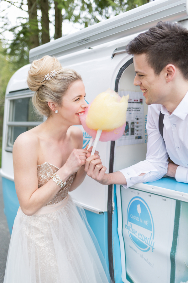 wedding cotton candy