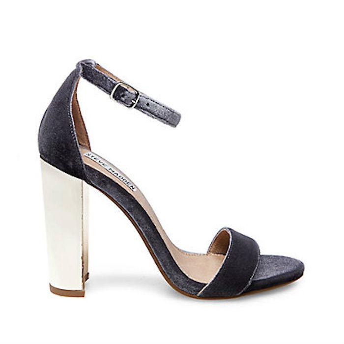 Carrson Velvet Sandal