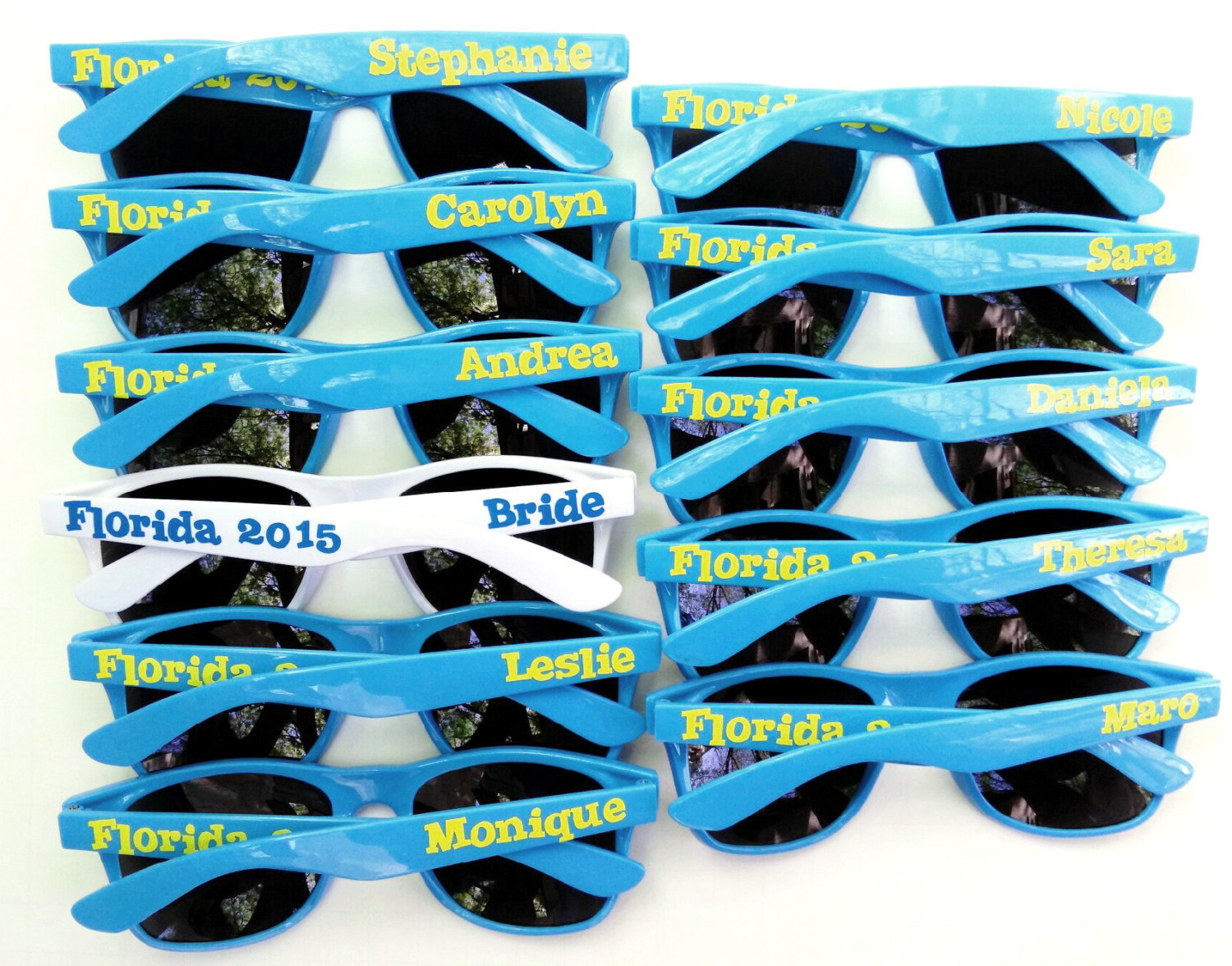 Personalized Wedding Party Sunnies