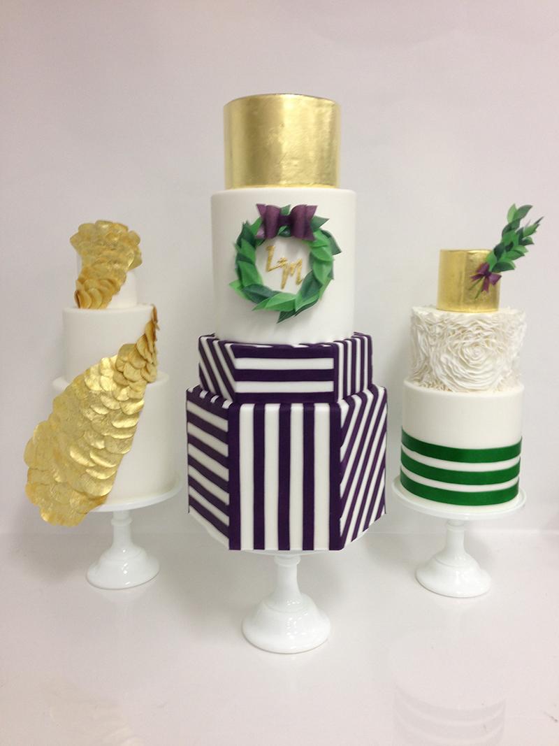 multi pattern cake