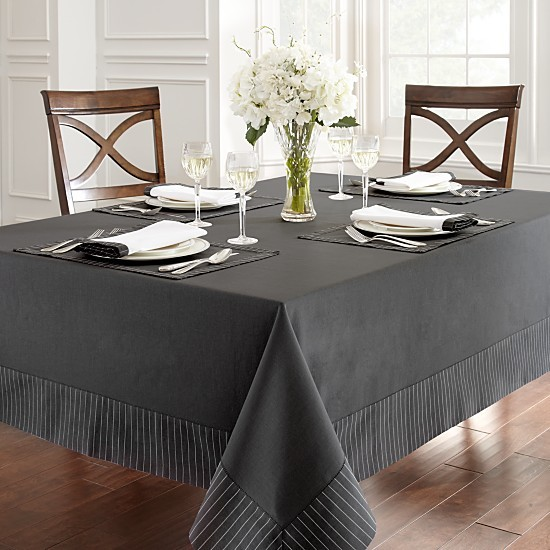 Waterford Rigato Table Linens