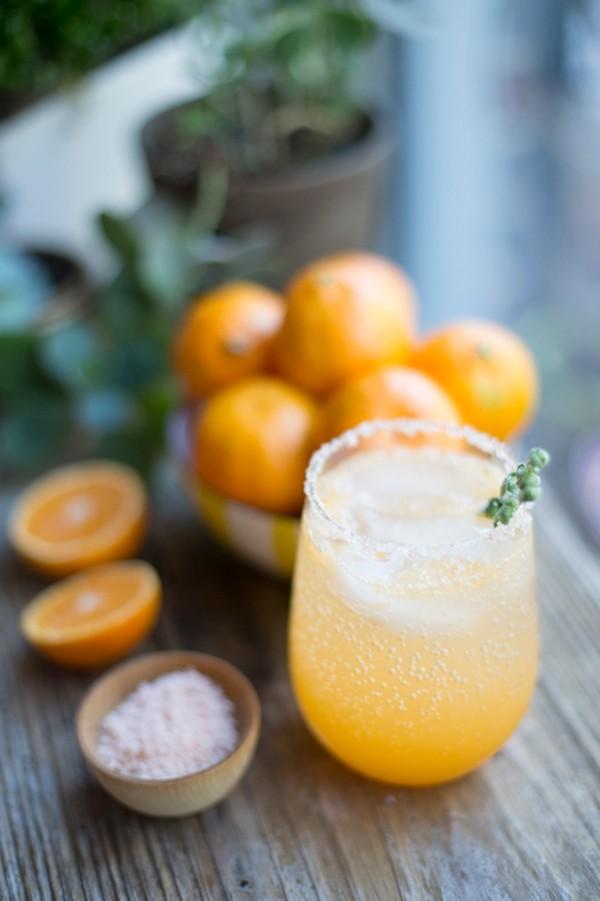 clementine orange cocktail