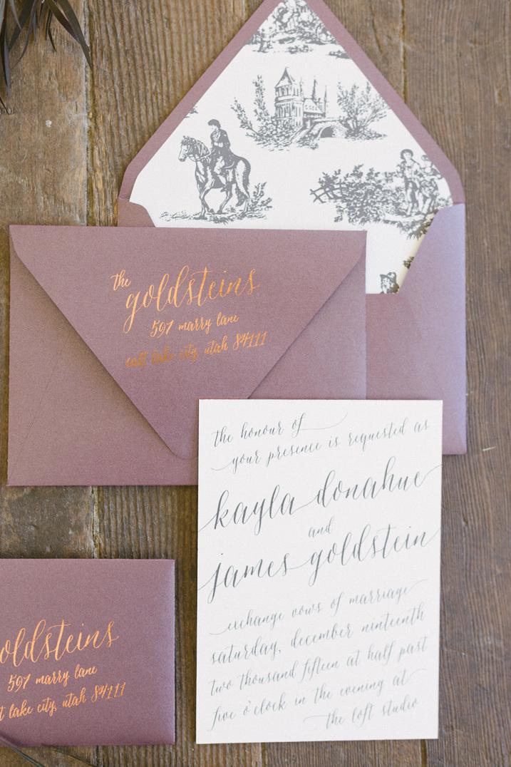 toile envelope liner