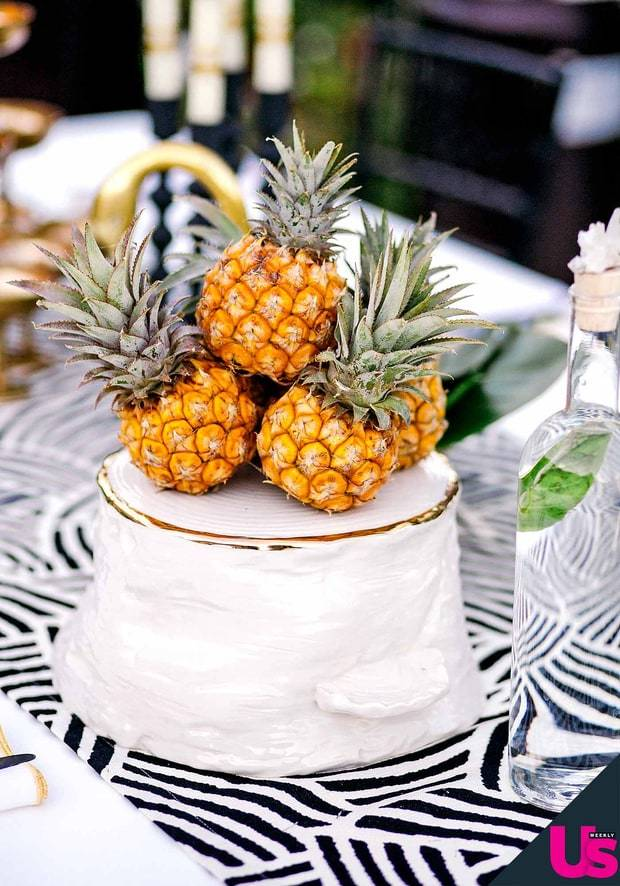 Pineapple Wedding Cake Topper by Hannah Costello