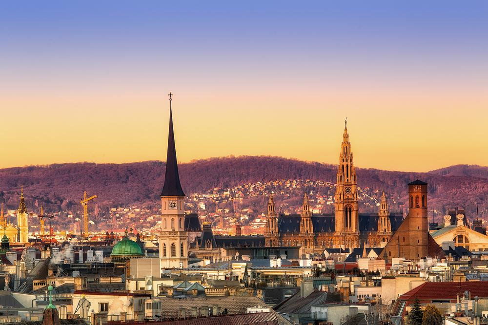 view of Vienna, Austria