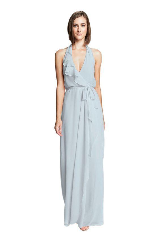 robin blue bridesmaid dress