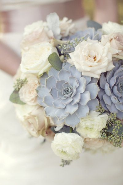 Succulents in the Bouquet
