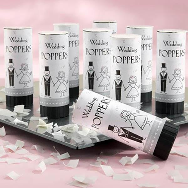 Eco Friendly Wedding Confetti Poppers