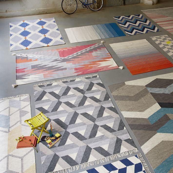 multicolored area rugs