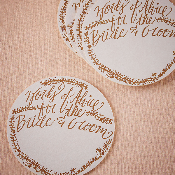 calligraphy paper coasters