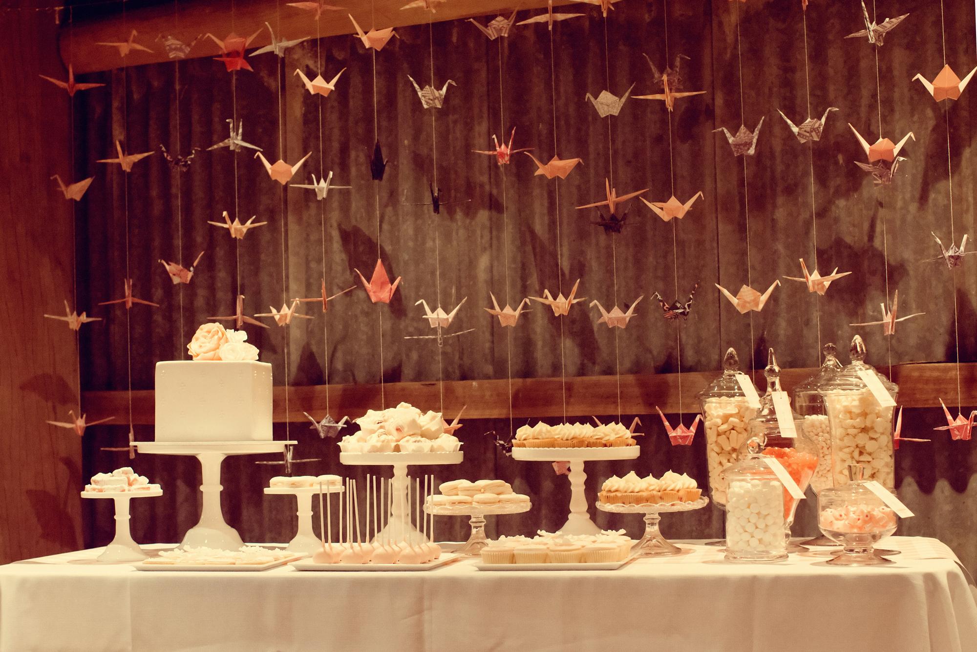 Whimsical Dessert Table