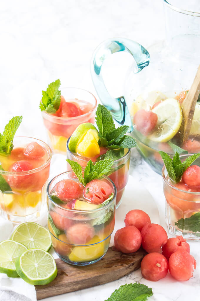 summer tequila sangria