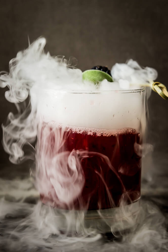 blackberry sage margarita