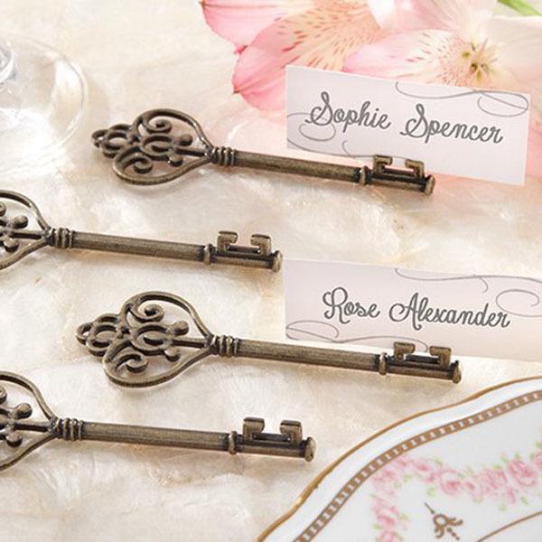 antique key favors