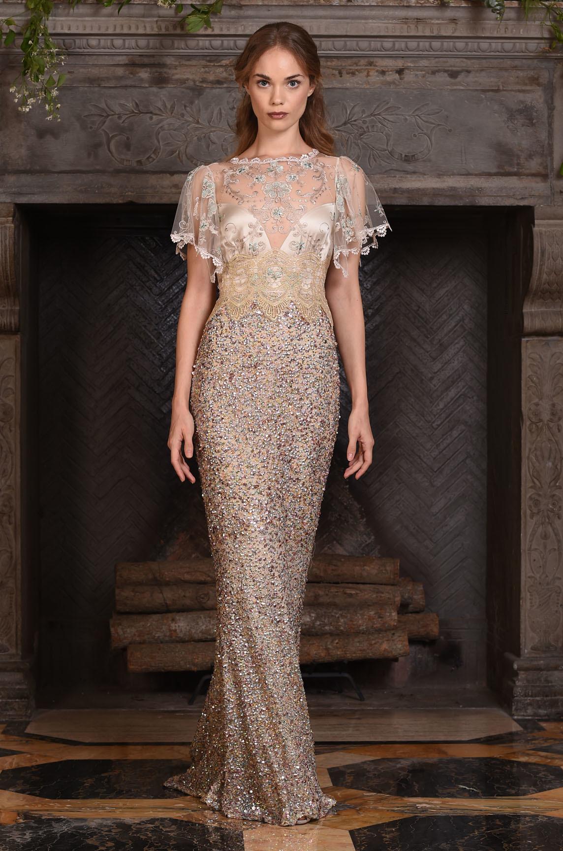 glam boho dress