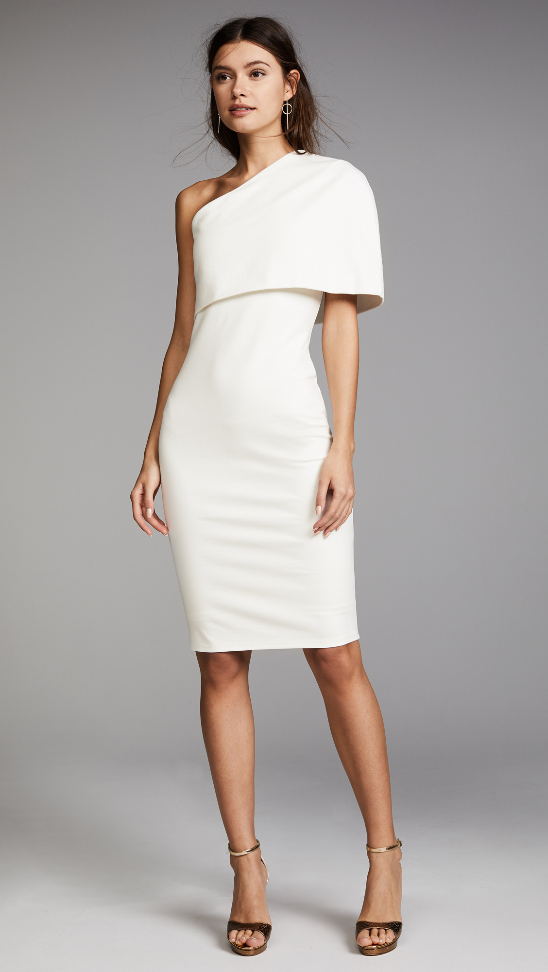 Michele Mason Asymmetrical Cocoon Dress