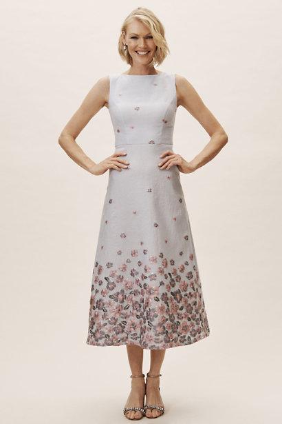 DHLDN Metallic A-line Guilie Dress