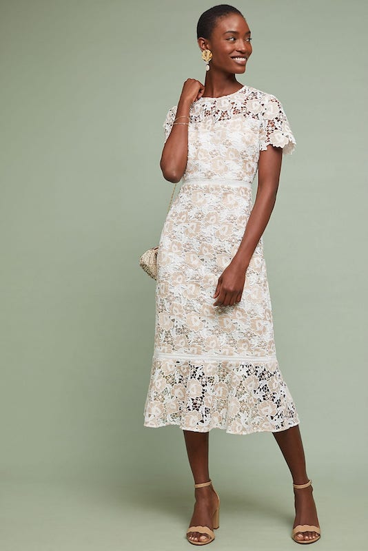 Shoshanna Beaulieu Lace Dress