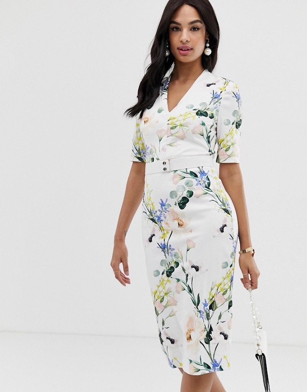 Ted Baker Lylli Elegance Midi Dress