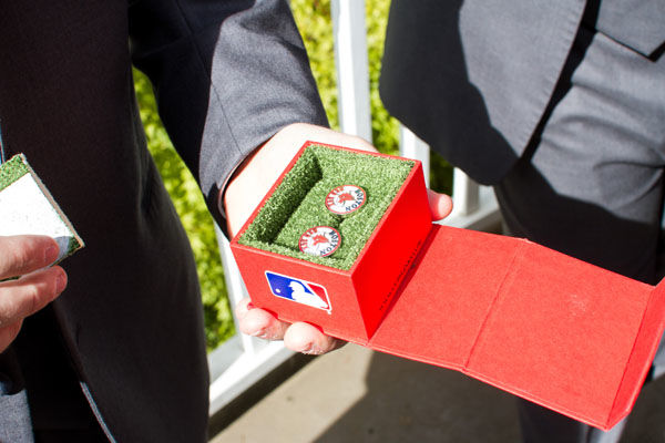 sports wedding details 7