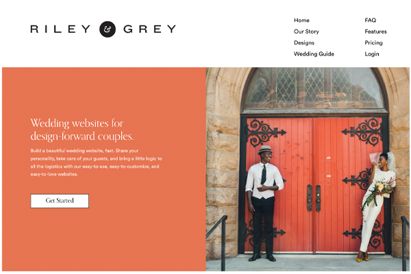 Riley & Grey Wedding Website