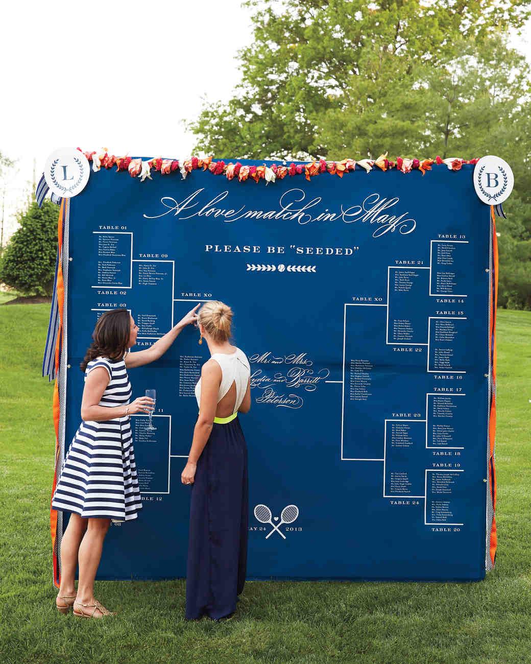 sports wedding details 9