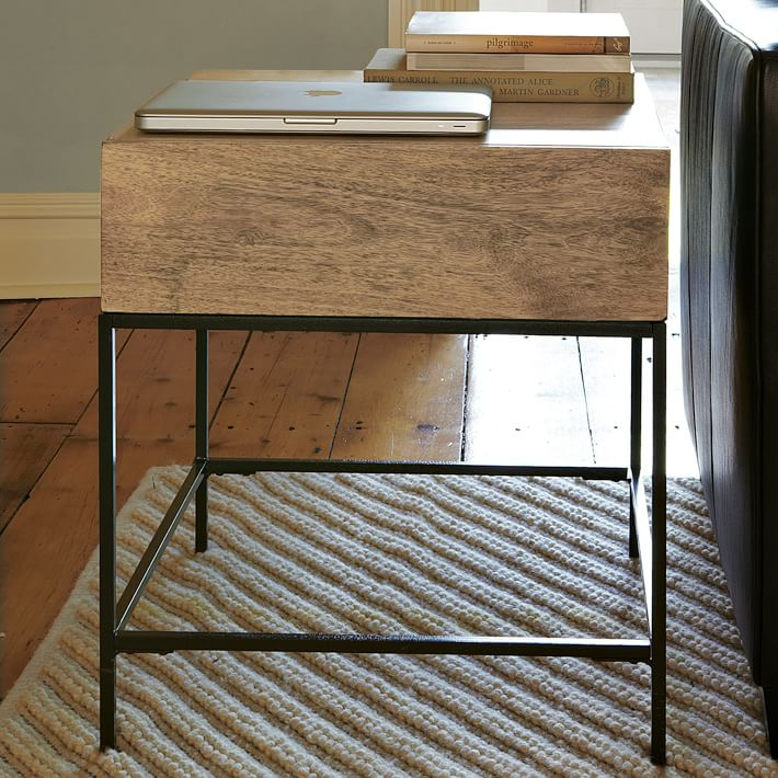 wedding-registry-ideas-for-book-lovers-side-table-williams-sonoma
